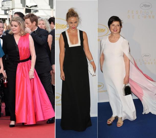 Die Eröffnungs-Looks der Filmfestspiele in Cannes 2015 © 2015 face to face