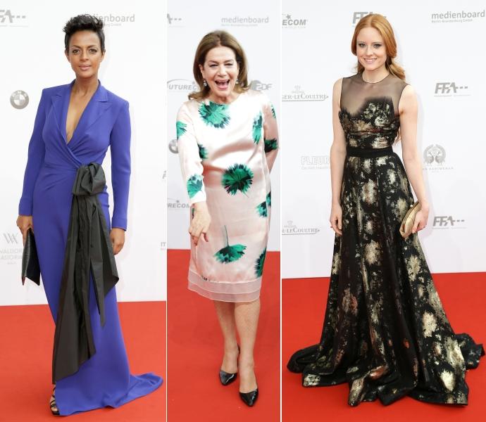 Die schönsten Kleider vom Deutschen Filmpreis 2015 © 2015 face to face