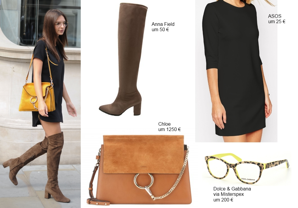 Star Look: Emily Ratajkowski im trendigen Herbst Look © Matrix Media Group / face to face 2015