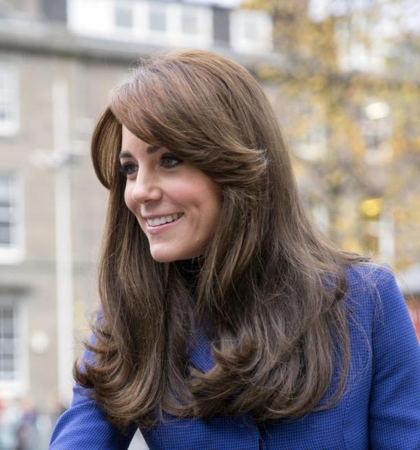 Look der Woche: Herzogin Kate in Royal-Blau
