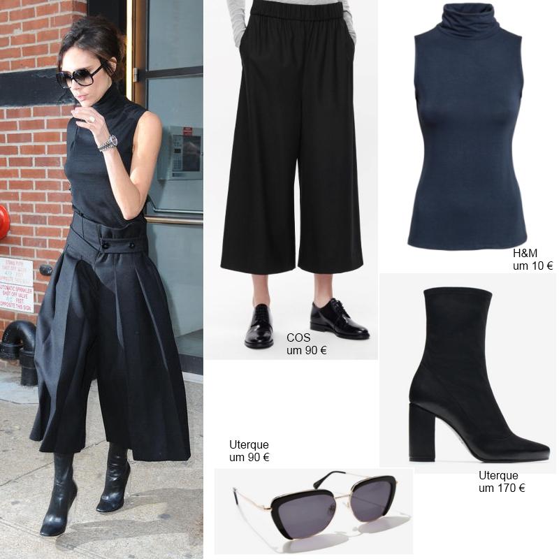 Star Look: Victoria Beckham ganz in Schwarz