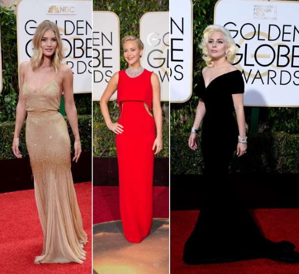 Die Looks der Golden Globes 2016 © Media Punch  / UPI / face to face 2016