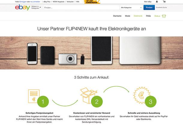 Ebay FLIP4NEW