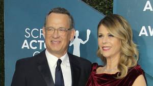 Bild von Tom Hanks und Rita Wilson